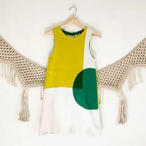 Anthropologie Moth Knit Mid Shift Dress